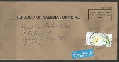 Namibia Cover - Mariental Official 2011-11-02 Prison Service
