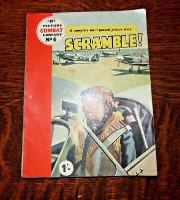 Combat Picture Library #6  scramble  - G. M. Smith Publishers