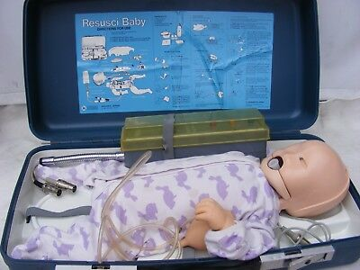 Laerdal Resuscitation Baby Anne With Signal Box First Aid With Carry Case
