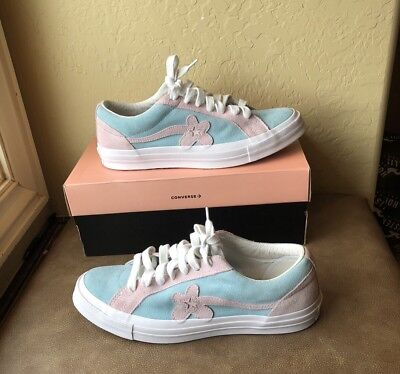 Converse Golf Le Fleur One Star Ox Two Tone 'Plume' Tyler the Creator Blue/Pink