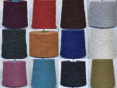 Yeoman Yarn Tibet Tweeted 3PLY 400g Hand / Knitting Machine Choice of Colours