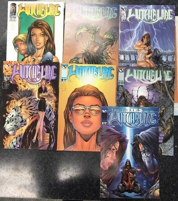 Witchblade #12, 13, 14, 15, 16, 17 & 18 Top Cow/Image Comics 1997 1st Print box5