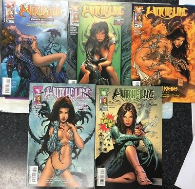 Witchblade #76, 77, 78, 79 & 80 Vol. 1 Top Cow/Image Comics 2004 1st Print