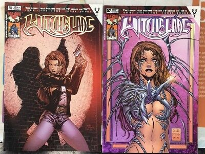 Witchblade #51 & #52  Vol. 1 Top Cow/Image Comics 2001/2002 1st Print (box5)