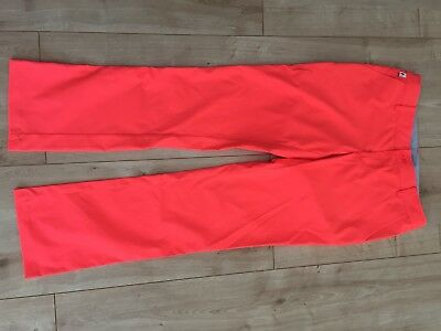 Peak Performance Golf Hose Orange Gr 27, Neu