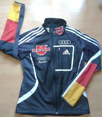 Adidas DSV Athletenjacke Germany Audi Windstopper Damen schwarz