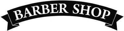 "24"" LARGE barber shop vinyl window wall art door sticker sign barbers decal"
