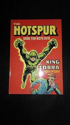 The Hotspur Book For Boys 1978 Vintage Adventure/Action Annual