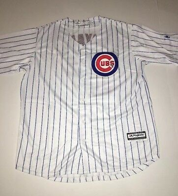 2abf37b0a60 Kris Bryant Chicago Cubs  17 Jersey SZ Youth L Majestic Cool Base Stitched  MLB