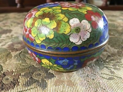 Antique Late 19th Century Chinese Cloisonne Pot