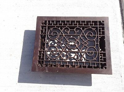 Vintage Cast Iron Heating Register Grate