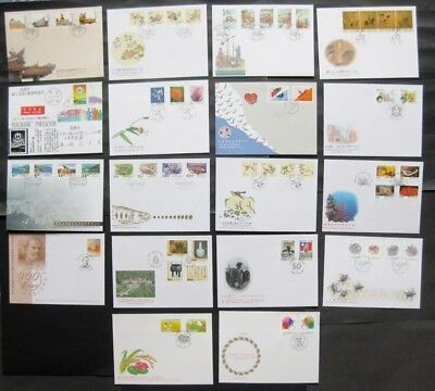 Taiwan 1995 Complete Set of 21 FDC