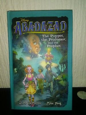 Disney Abadazad The Puppet, the Professor and the Prophet Book New Hardback Rare