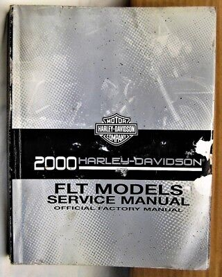 2000 Harley Davidson FLT MODELS SERVICE FACTORY Official MANUAL Motorcycle