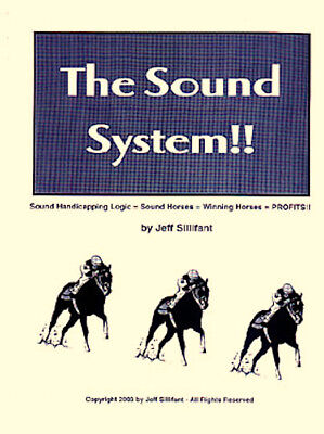 THE SOUND SYSTEM t'bred horse race handicapping method  A Top Ten best  seller!
