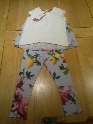 Girls Ted Baker Outfit 3-4 (New With Tags)