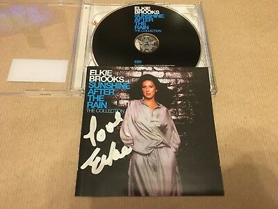 Elkie Brooks  -  Sunshine Collection   Signed   -  Uk  Cd Lp    -   Uacc