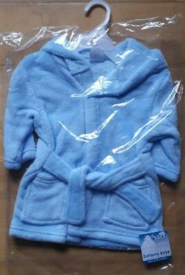 6-12 Months Blue Dressing Gown