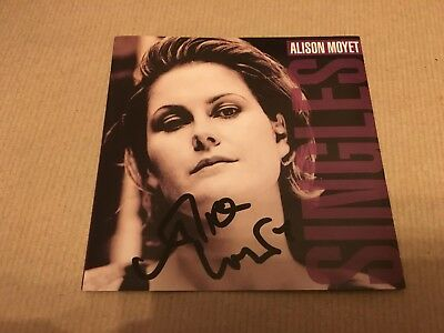Alison Moyet  -    Singles  -    Signed   -  Uk  Cd Lp    -  Yazoo   Uacc