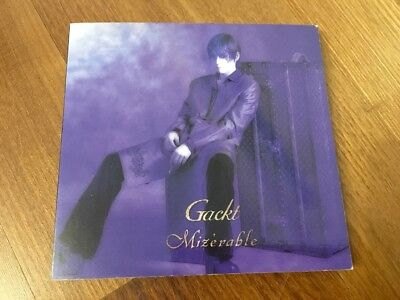 Gackt - Mizerable e.p.  CD  Mini-Album, Jrock Visual Kei