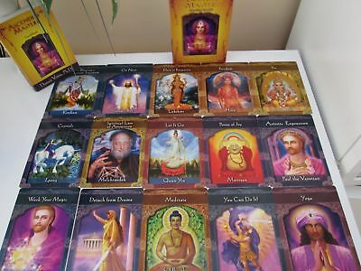 ASCENDED MASTERS ORACLE Cards - £36 00 | PicClick UK