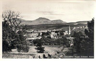Old R/p Postcard - View From Cricket Field - Galashiels - Selkirkshire C.1935