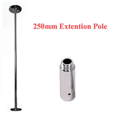 250mm Extention Pole For 45mm Portable Static Spinning Dance Pole Dancing