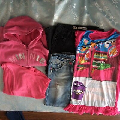 A Lovely Used Bundle Of Girls Clothes , Size 8-9 Years