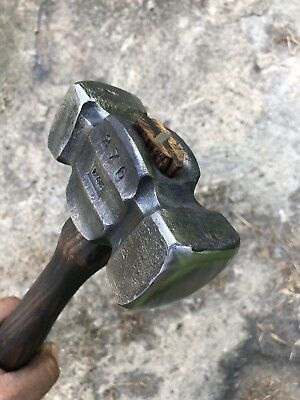 Blacksmith/ Farrier Rounding Hammer 3LB (Hand Forged by Coal Township Forge)