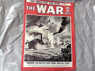 The War Weekly magazine by Newnes 64 copies £1.00 each copy