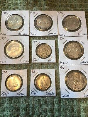 $7,50 Face Value All 80% Including Nice Dates Canada Lot