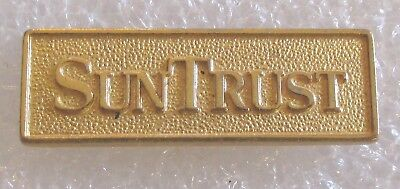 Vintage SunTrust Bank Employee Service Award or Advertising Pin