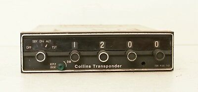 Collins TDR 950L Transponder 622-3034-001 As Removed