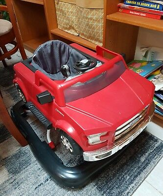 Ford car baby walker / push along (3 ways to play)