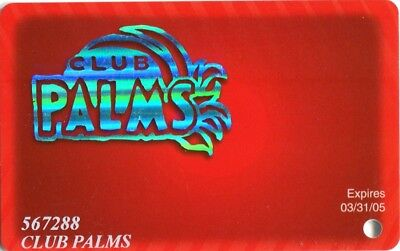 Las Vegas Palms Casino Slot Card #2