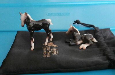 Breyer Licorice and Jellybean Vintage Club SR 500 Made G1 Foals