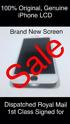 100% Genuine Original iPhone 8 + Plus WHITE LCD Display Touch Screen Digitizer