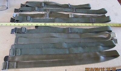 Military Canvas and Nylon Sling Lot (M1, 1903) 8 Slings