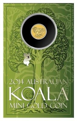 2014 Mini Koala 0.5g Gold Coin ( sold out at mint )