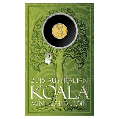 Mini Koala 2015 0.5g Gold Coin ( Sold Out At Mint )