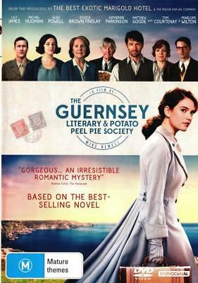 The Guernsey Literary and Potato Peel Pie Society - DVD (NEW & SEALED)