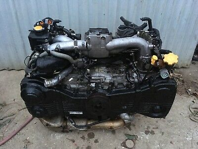 Subaru Forester EJ255 Engine W/turbo 2005-2008 SG XT