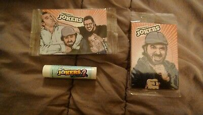 impractical jokers trading cards and lip balm