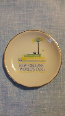 New Orleans World's Fair 1983 Riverboat Vintage Collectors Plate by LWE