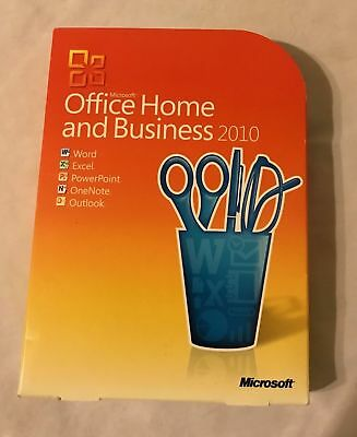 Complete Microsoft Office Home and Business 2010 With Key Code