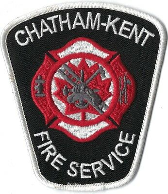 Chatham-Kent Canada Fire Service Patch