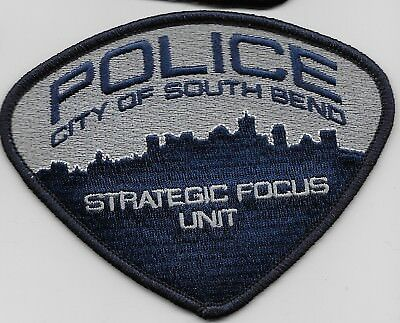 South Bend Police Strategic Focus Unit State Indiana IN