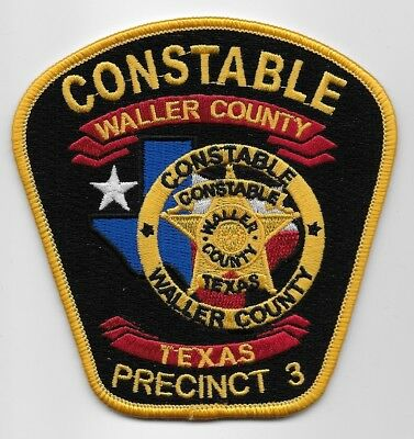 Waller County Constable PCT 3 NEW Police Sheriff State Texas TX