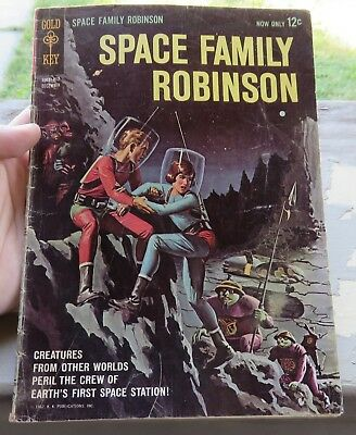Space Family Robinson #1 Comic Book Gold Key 1962