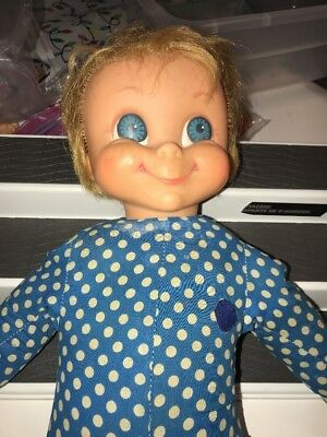 Vintage 1967 Family Affair Mrs Beasley Doll No Apron Does Not Talk rare parts